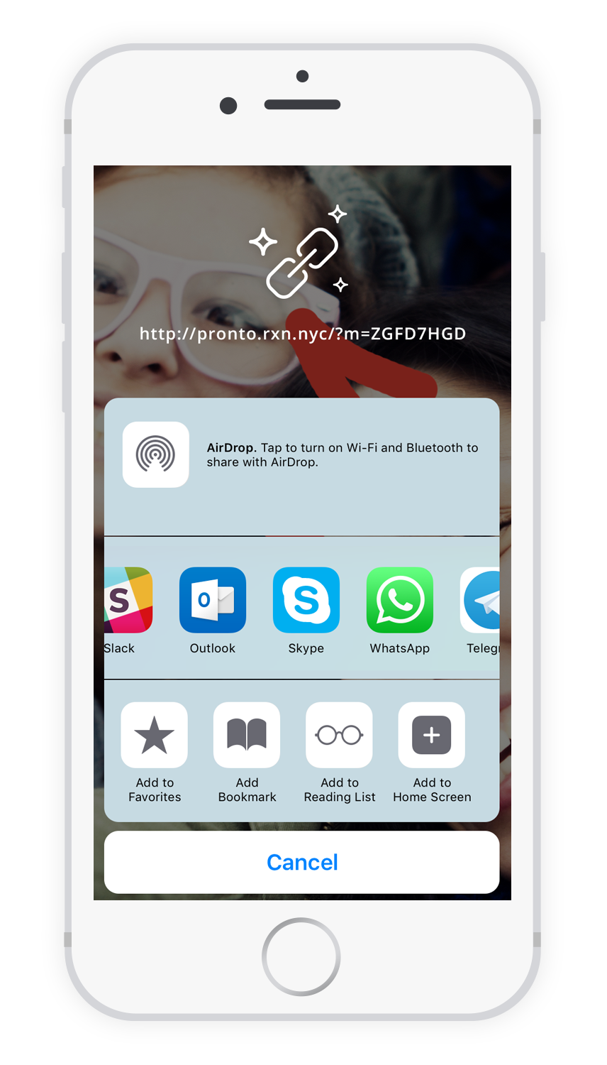 Pronto! Free & safe messenger app with patented screenshot